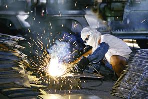 工艺焊接现场