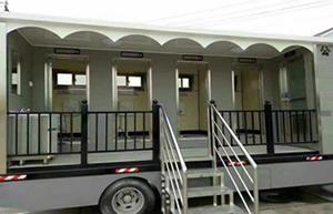 移动厕所,车载式移动卫生间分体式高压气水冲设备介绍说明