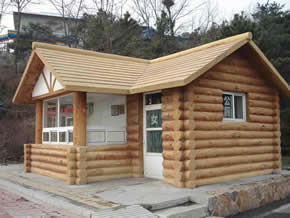 仿原木艺术环保公厕YT-CS006