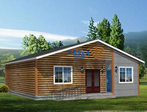 木质环保厕所YT-CS014