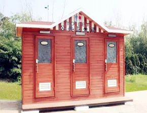 防腐艺术环保厕所YT-CS020