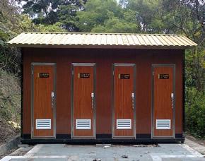 防腐木艺环保厕所YT-CS040