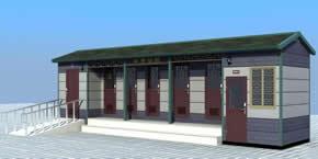 仿古环保厕所YT-CS043