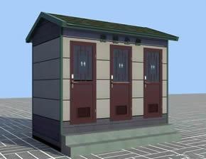 环保厕所YT-CS056仿古移动厕所厂家