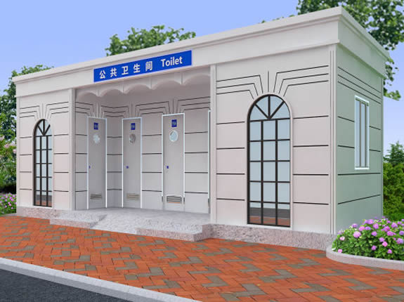 环保厕所YT-CS204钢结构/雕花