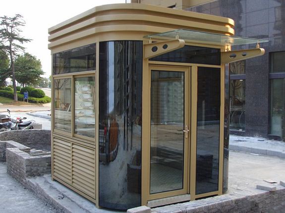 钢结构岗亭YZ021-YSGT欧式艺术岗亭