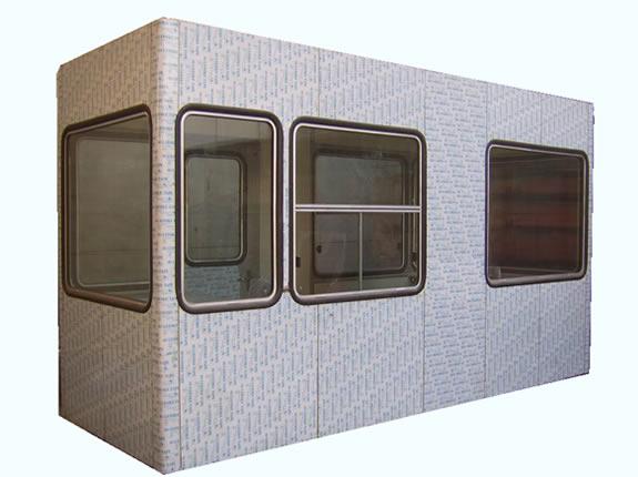 高速公路不锈钢收费岗亭YZ898B-SFT